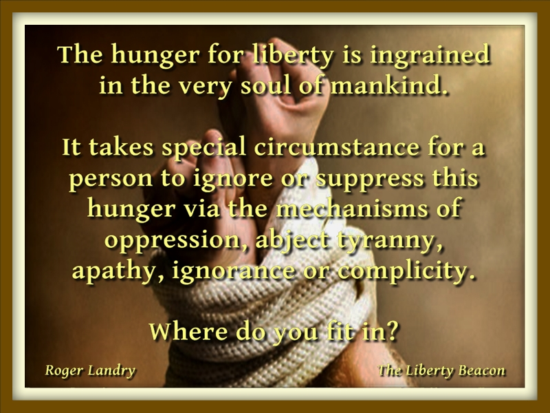 Hunger for Liberty 01