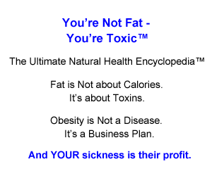 Your not fat Your toxic