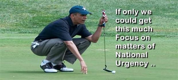 Obama Golf 1