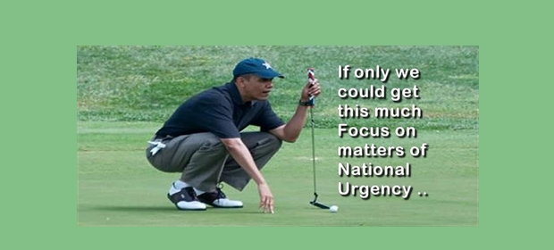 Obama Golf 2