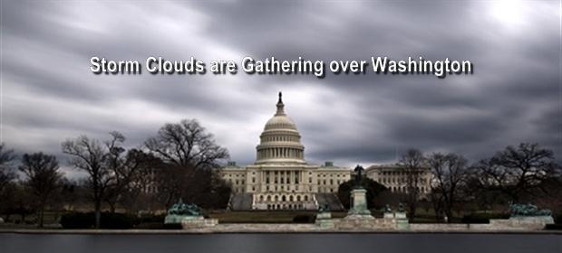 Clouds over Washington