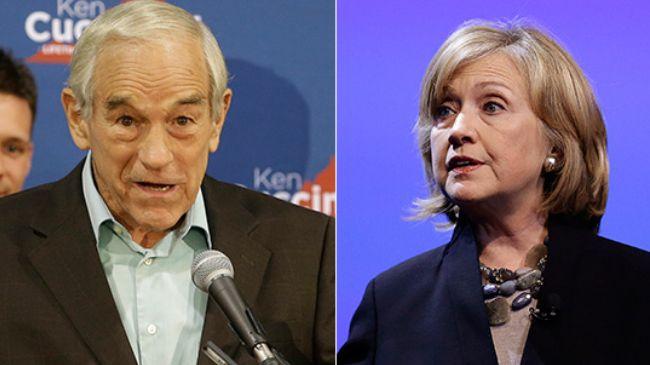 Ron-Paul-Hillary-Clinton
