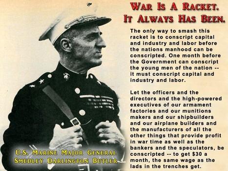 analysis war is a racket