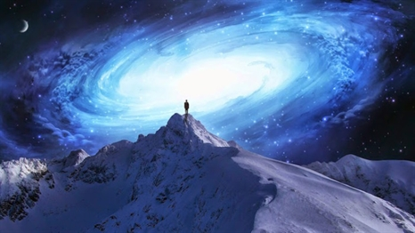 consciousness-human-awakening-mountain-top-galaxy-466