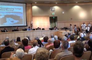 City Counsel Geo-engineering presentation