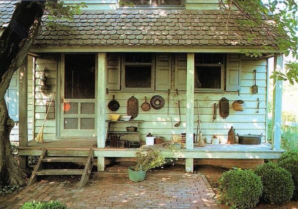 Poor farm house