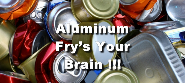 Aluminum fries your brain