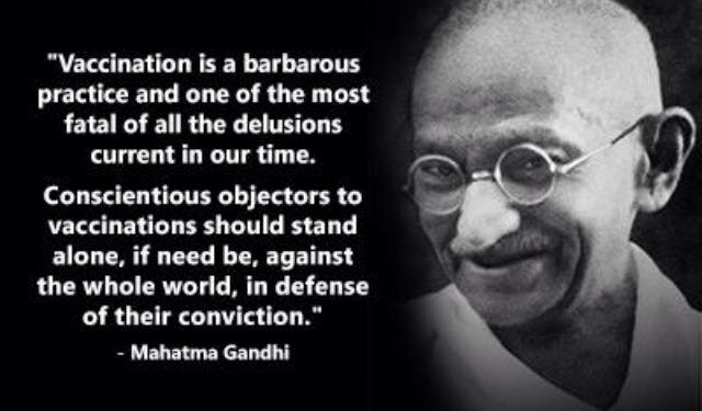Vaccine Gandhi