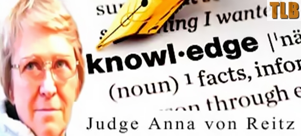 AN INTERVIEW WITH JUDGE ANNA VON REITZINGER ABOUT OUR HISTORY KNOWLEDGE-ANNA