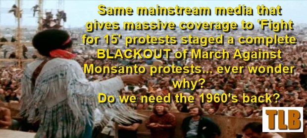 Same mainstream media that gives massive coverage to ...