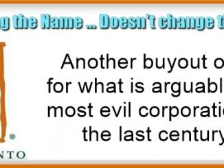 Bayer Monsanto buyout offer 1