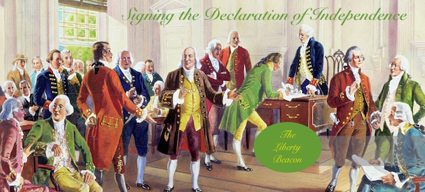 SIGNING THE DECLARATION OF INDEPENDENCE-TLB-PHOTO