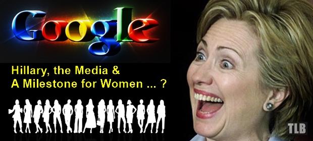 Hillary media Milestone women