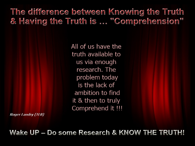 Know The Truth
