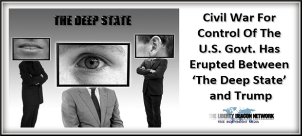 headlines warning civil control government erupted between deep state donald trump