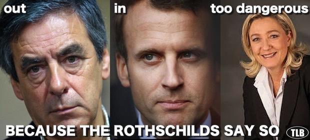 Resultado de imagen de Emmanuel Macron, y los ROTHSCHILD
