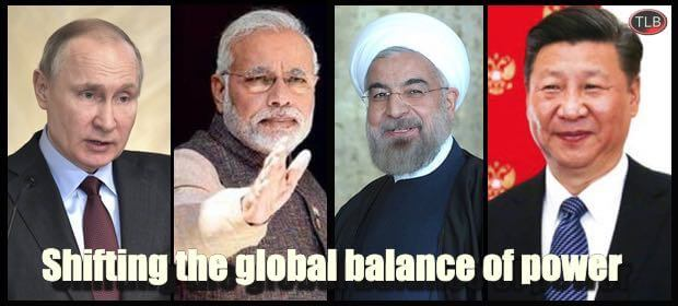 Russia, China, India & Iran: The Magic Quadrant That's Changing the