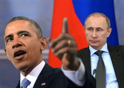 US President Barack Obama and Russia's President Vladimir Putin.