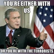you-are-with-us-or-the-terrorists