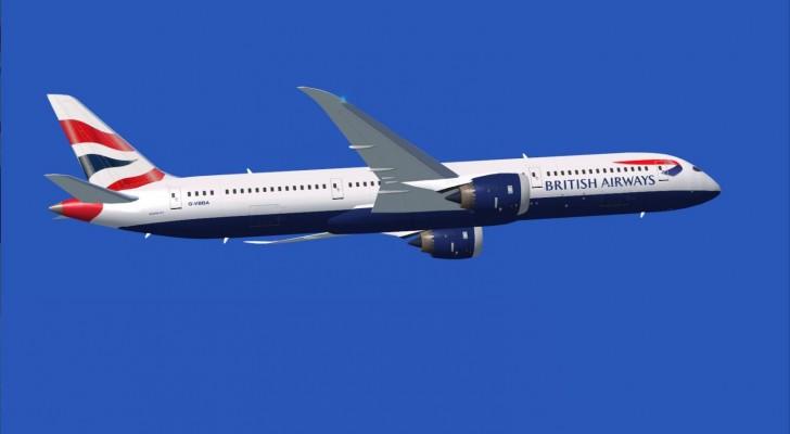 787 jetliner