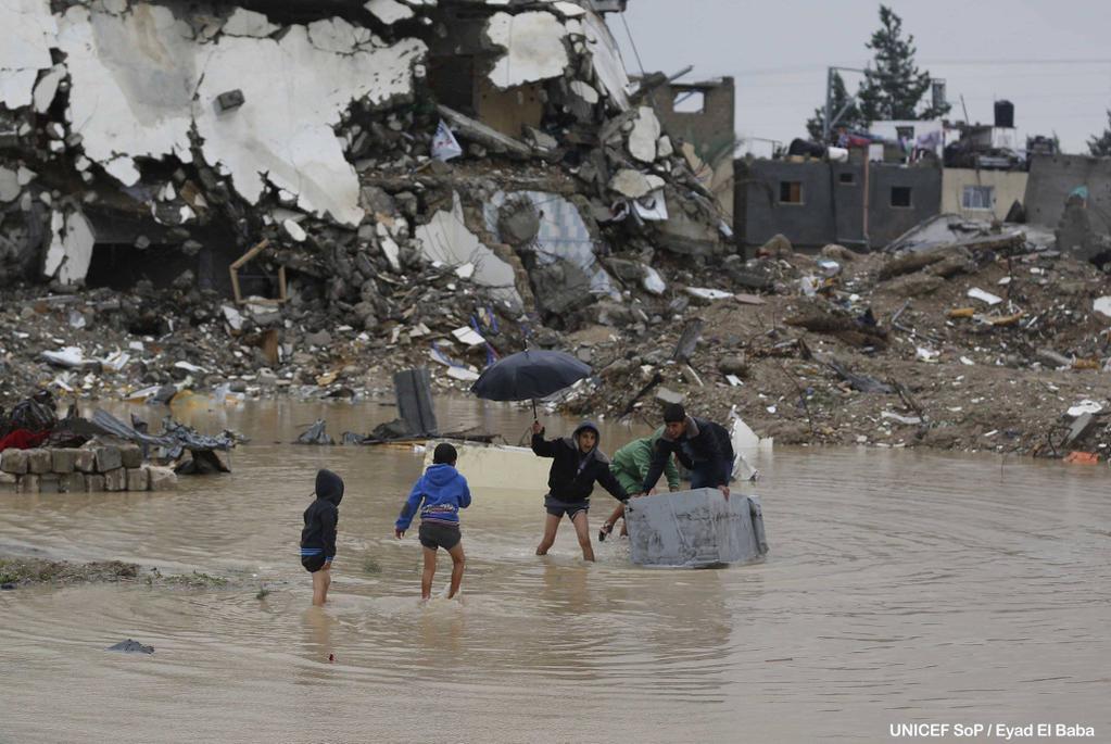 Humanitarian Crisis in Gaza 2015