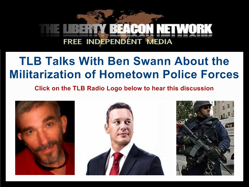 TLB discussion with Ben Swann 01