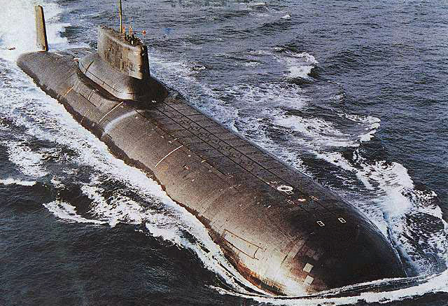 Russian Typhoon sub