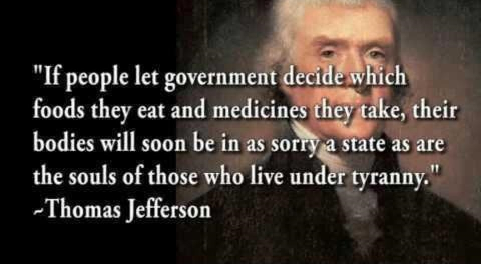 Thomas Jefferson medical tyranny