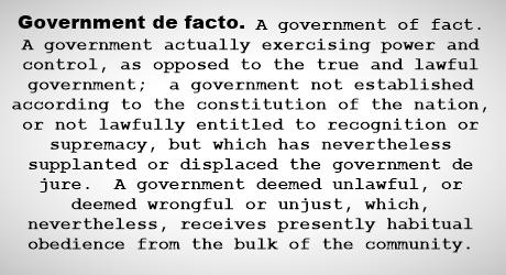 Government de facto-462vig