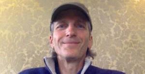 Jock Doubleday headshot baseball cap hat cropped