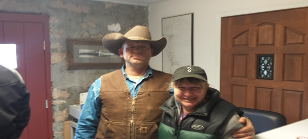 Ryan Bundy and myself 1 26 16