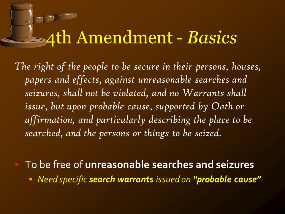 4th Amendment 1