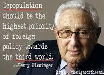 Henry Kissinger depop insert