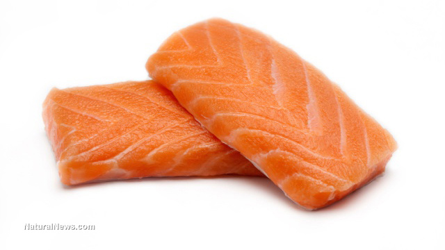 Salmon-Fillet-GMO-Food-Coloring