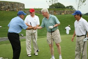 trump-clinton-golf